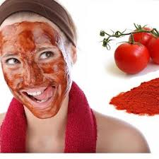 Tomato Homemade Face Mask